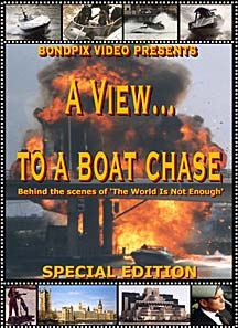 james bond 007 dvdv a view to a boat chase