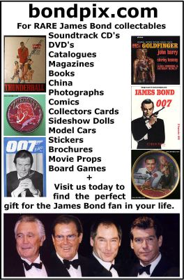 James Bond 007 colectible shop